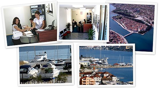 Nautilus Yachting Head office in Trogir, Croatia