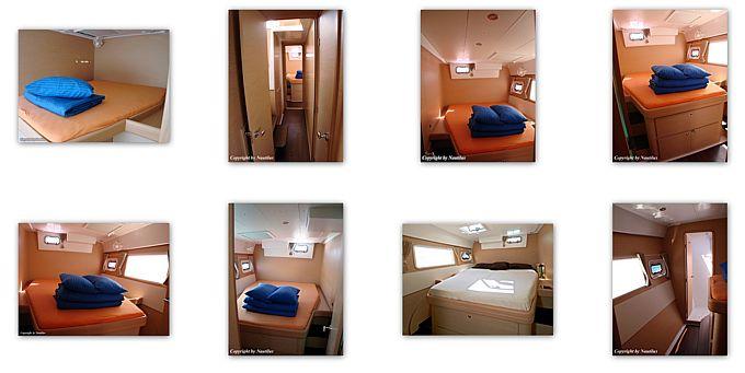 Jeanneau Lagoon 421 interior - cabins