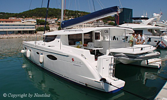 Fountaine pajot catamaran Salina 48. SALINA 48
